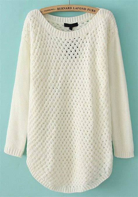 Sweater Give Me A White sweaters acrylics and sweaters on