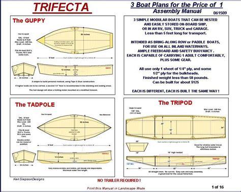 layout plan free free layout duck boat plans biili boat plan
