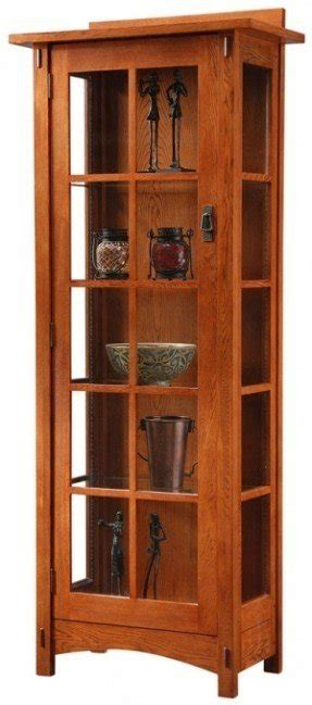 mission style curio mission curio cabinets foter