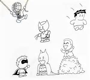 draw chibi marvel characters images
