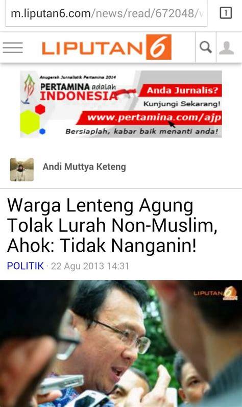 ahok quran 16 alasan umat islam menolak ahok jadi gubernur dki