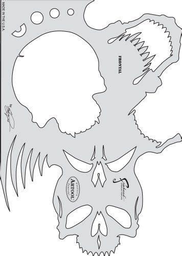 neco template skull stencil na neco skull stencil