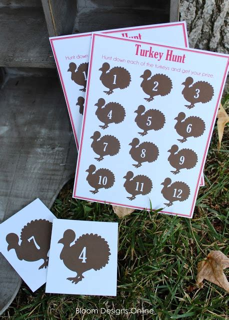charming Home Game Room Ideas #5: Turkey-Hunt-Thanksgiving-Game.jpeg