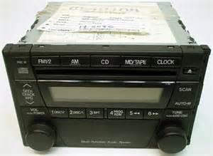 2002 2004 mazda tribute factory radio cd player r 1225 2
