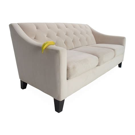 58 Off Max Home Furniture Macy S Chloe Tufted Sofa Sofas Macys Tufted Sofa