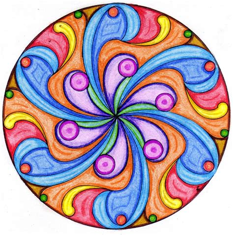 imagenes de mandalas faciles pintados el delirio del lirium mandalas pintando dise 241 os ajenos 1