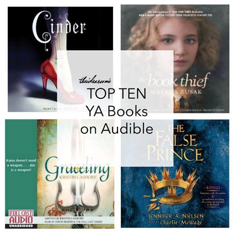 top ten ya books on audible the idea room