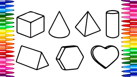 R Drawing Shapes by Coloring Pages Collection