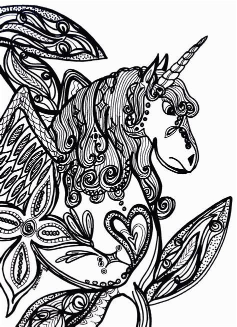coloring pages of unicorns for adults unicorn coloring pages for adults coloring home