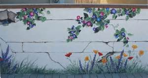 Garden Wall Murals Ideas garden wall murals ideas about windows 7 wallpaper with outdoor garden