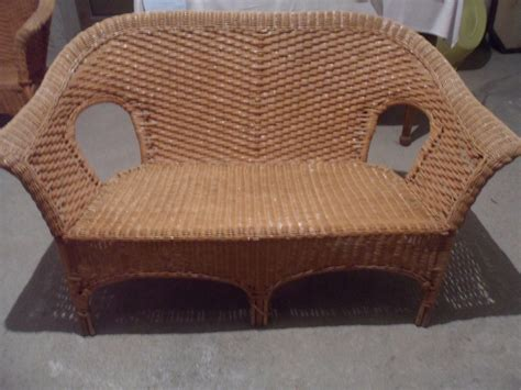 divano in vimini divano in vimini per il giardino arredamento giardini