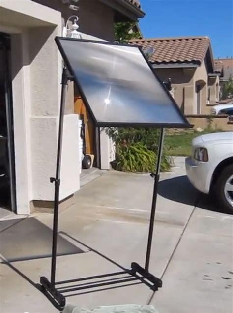solar len build a fresnel lens solar cooker for free grid world