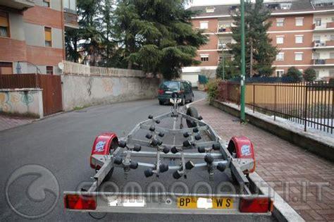 carrelli porta barca usati vendo carrello porta imbarcazione satellite
