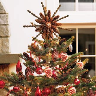 temptations christmas tree decorating at with pine cones world of temptations