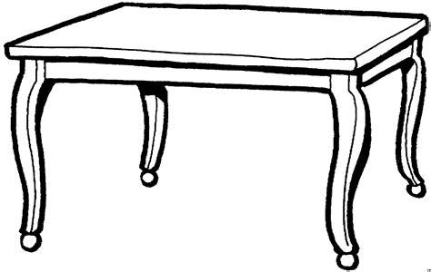 tische zeichnen einfacher tisch ausmalbild malvorlage objekte