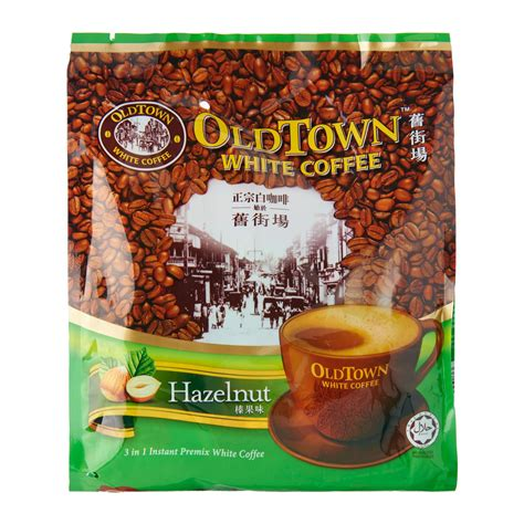 Town Coffee town 3 in 1 hazelnut white coffee mix 40g from redmart