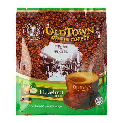 town 3 in 1 hazelnut white coffee mix 40g from redmart
