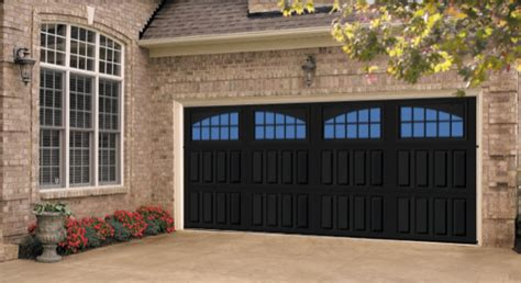 trend alert gray  black garage doors