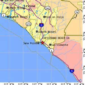 capistrano california map capistrano california ca population data races