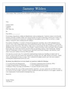 Professional Administrative Assistant Cover Letter by Administrative Cover Letter Exle
