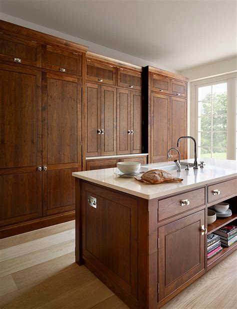 black walnut kitchen cabinets maximize kitchen space with these 4 appliances