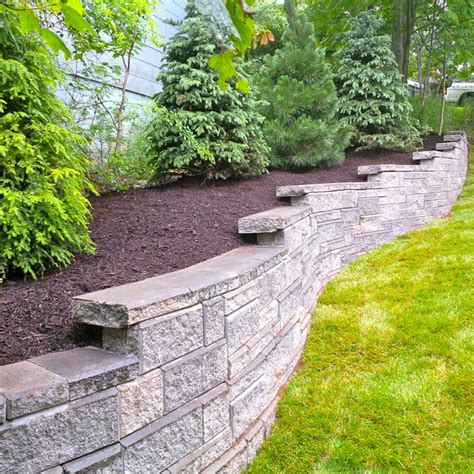 Outdoor Mba by Retaining Walls Landscape Other Metro By Mba Landscaping