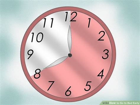 how to go to bed early how to go to bed early 15 steps with pictures wikihow