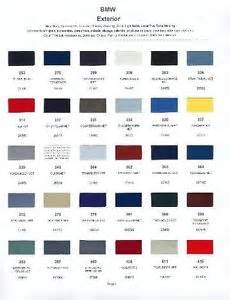 2001 bmw paint color sle chips card oem colors ebay