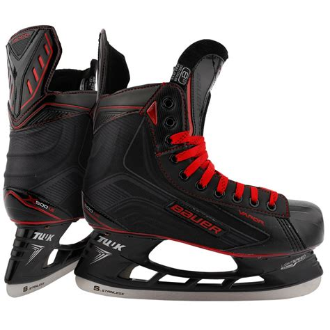 le black bauer vapor x500 le black senior hockey skates