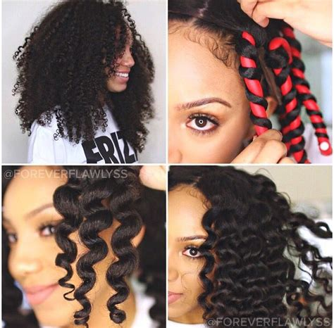 can you use creaclip for short hair 47 best flexi rods images on pinterest natural hair