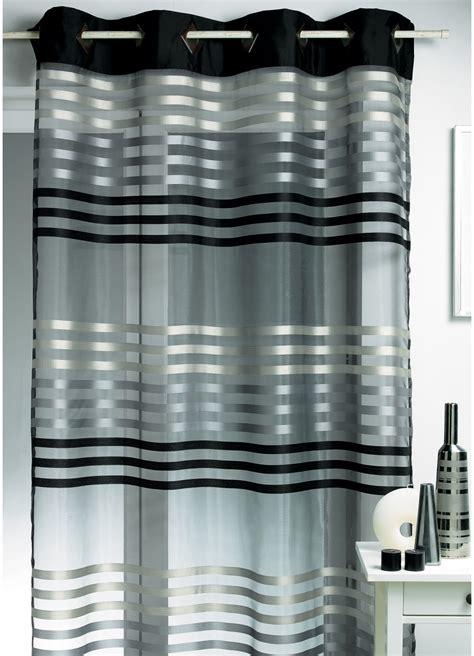canapé gris et noir rideaux pour salon noir et blanc inspirations et rideau