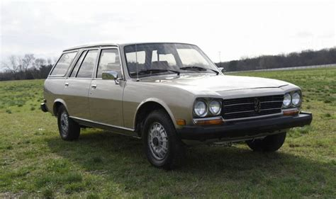 peugeot 504 wagon for 13 000 could this 1982 peugeot 504 diesel wagon be a