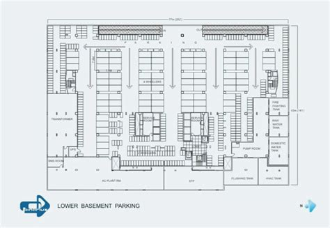 Home Interior Lighting Design by Basement Parking Floor Plan Concept Information About