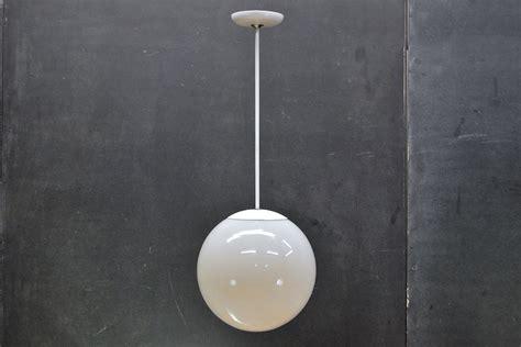 lighting design ideas white globe pendant light pendant