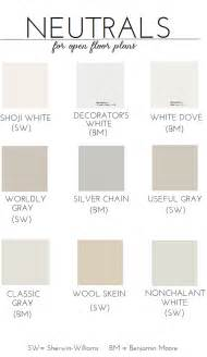 blue neutral color choosing paint for an open floor plan emily a clark