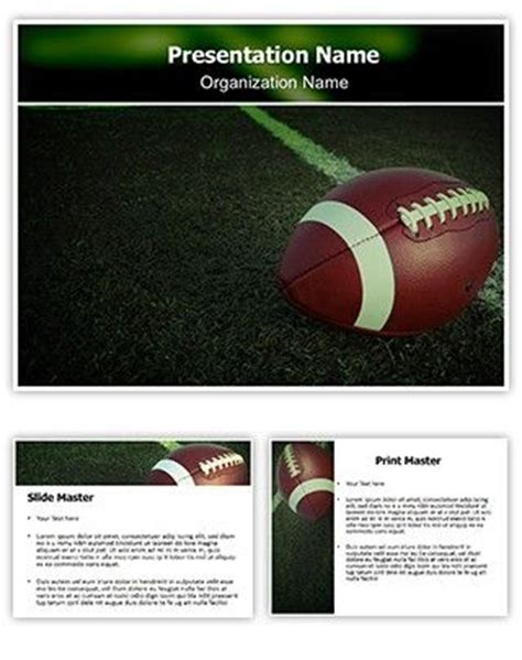 1000 Images About Powerpoint On Pinterest Cause And Effect Powerpoint Download And American Powerpoint Football Template