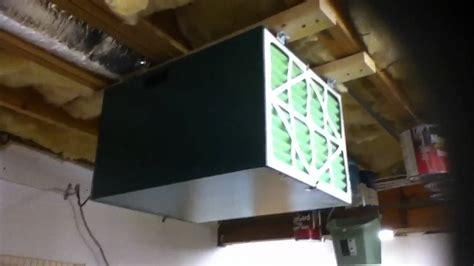 basement air purification system grizzly s air filtration unit for basement workshop