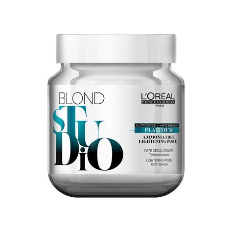 l or 233 al blond studio platinium ammonia free was pink