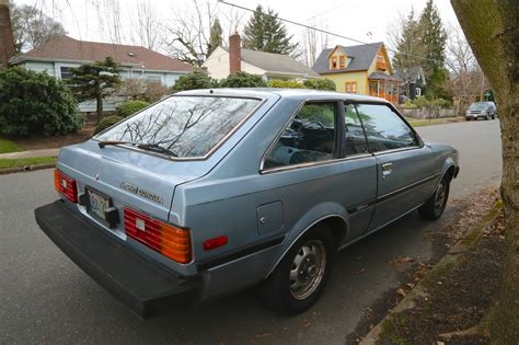 toyota old old parked cars 1982 toyota corolla liftback