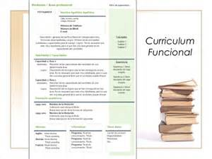 Plantilla De Curriculum Vitae Funcional O Tematico Curriculum Y Carta De Presentaci 243 N