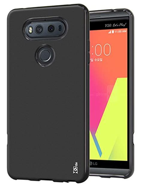 Ume Ultra Thin Lg V20 Original Tpu Soft lg v20 dgtle anti scratches tpu gel premium slim soft bumper rubber protective