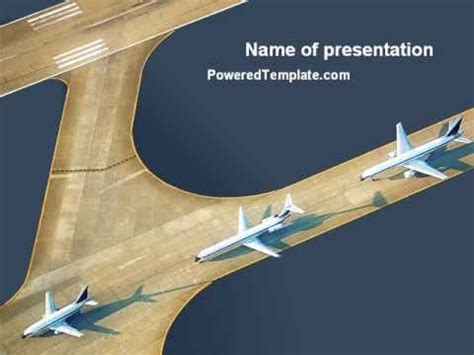 airport template powerpoint airport powerpoint template