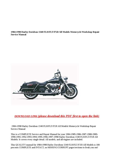 service manual free download to repair a 1986 lincoln continental 1966 lincoln continental 1984 1998 harley davidson 1340 flh flt fxr all models motorcycle workshop repair service manual