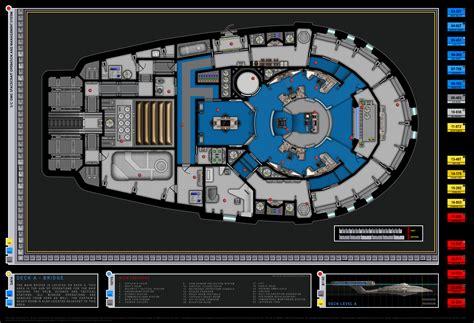 uss enterprise floor plan colored bridge schematic columbia class starship u s s