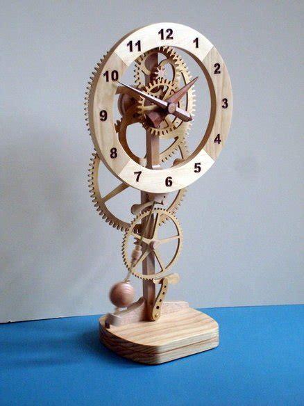 high tech handcrafted pendulum mystery clock  dickb