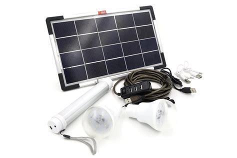 6w Usb Solar Panel Diy Solar Power Lighting Kit Ebay Solar Power Lighting Kits