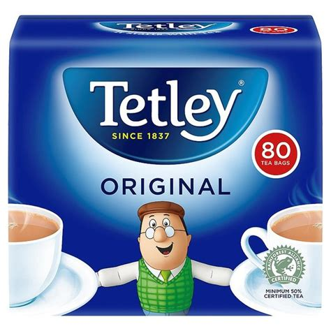 A Tastetea Reminder And Free Tea Offer by Tetley Tea Bags 80 Per Pack From Ocado