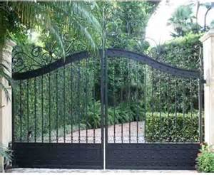 Faux Finishes Paint - custom iron gates driveway ornamental gates estate gates