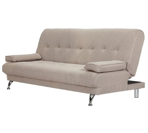 Clic Clac Sofa Beds Buy Home Sicily 2 Seater Fabric Clic Clac Sofa Bed