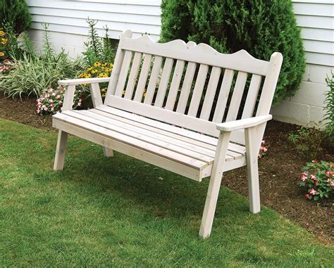 english bench red cedar royal english bench from dutchcrafters amish